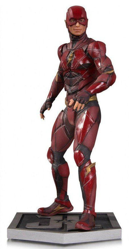 Estátua Flash: Liga da Justiça (Filme) Escala 1/6 - DC Collectibles - CD