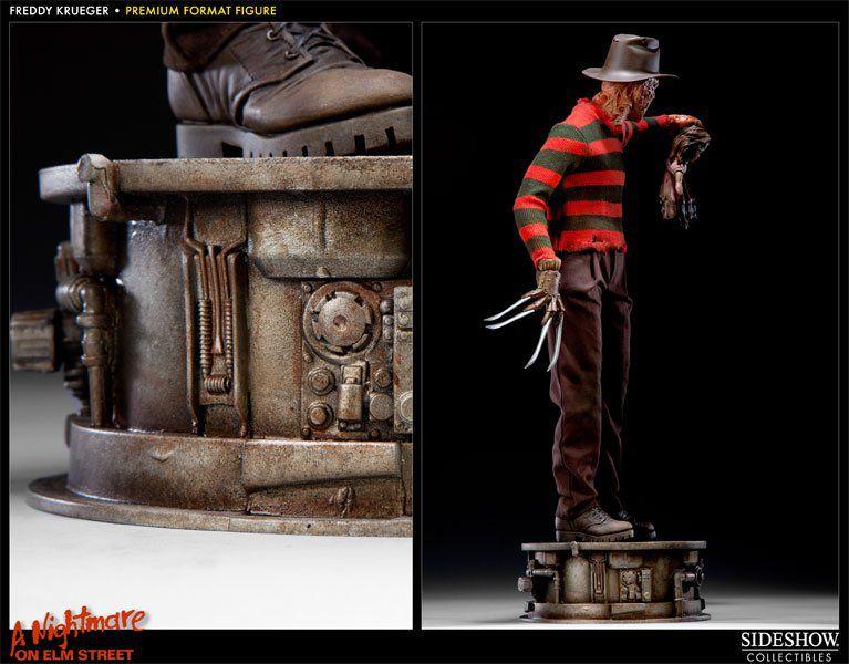 Estátua Freddy Krueger: A Hora do Pesadelo (A Nightmare on Elm Street) Premium Format (Escala 1/4) - Sideshow