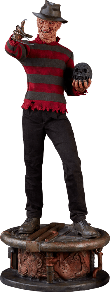 Estátua Freddy Krueger: A Hora do Pesadelo (A Nightmare on Elm Street) Premium Format - Sideshow