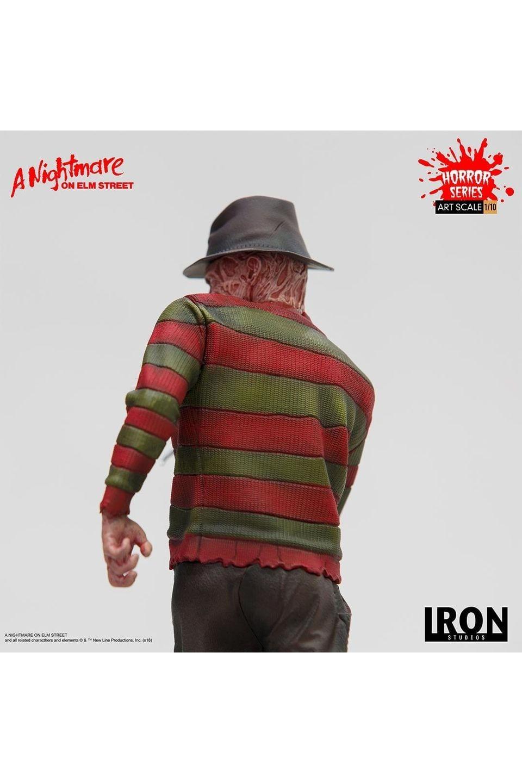 Estátua Freddy Krueger: - A Nightmare on Elm Street - Bds Art Scale 1/10 - Iron Studios