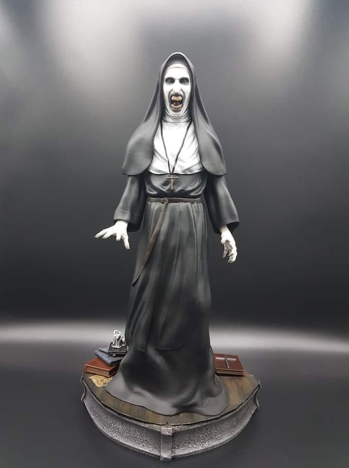 Estátua Freira The Nun: Terror Series Escala 1/6 - Fanatic Studios