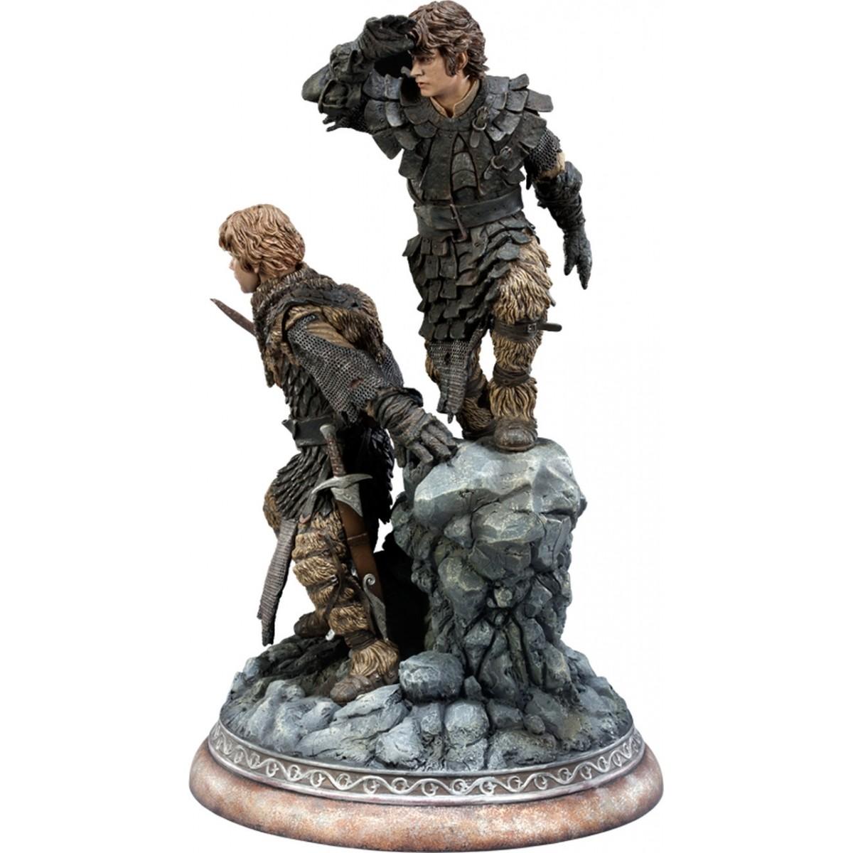 Estátua Frodo e Samwise: O Senhor dos Anéis Diorama - Sideshow - CG