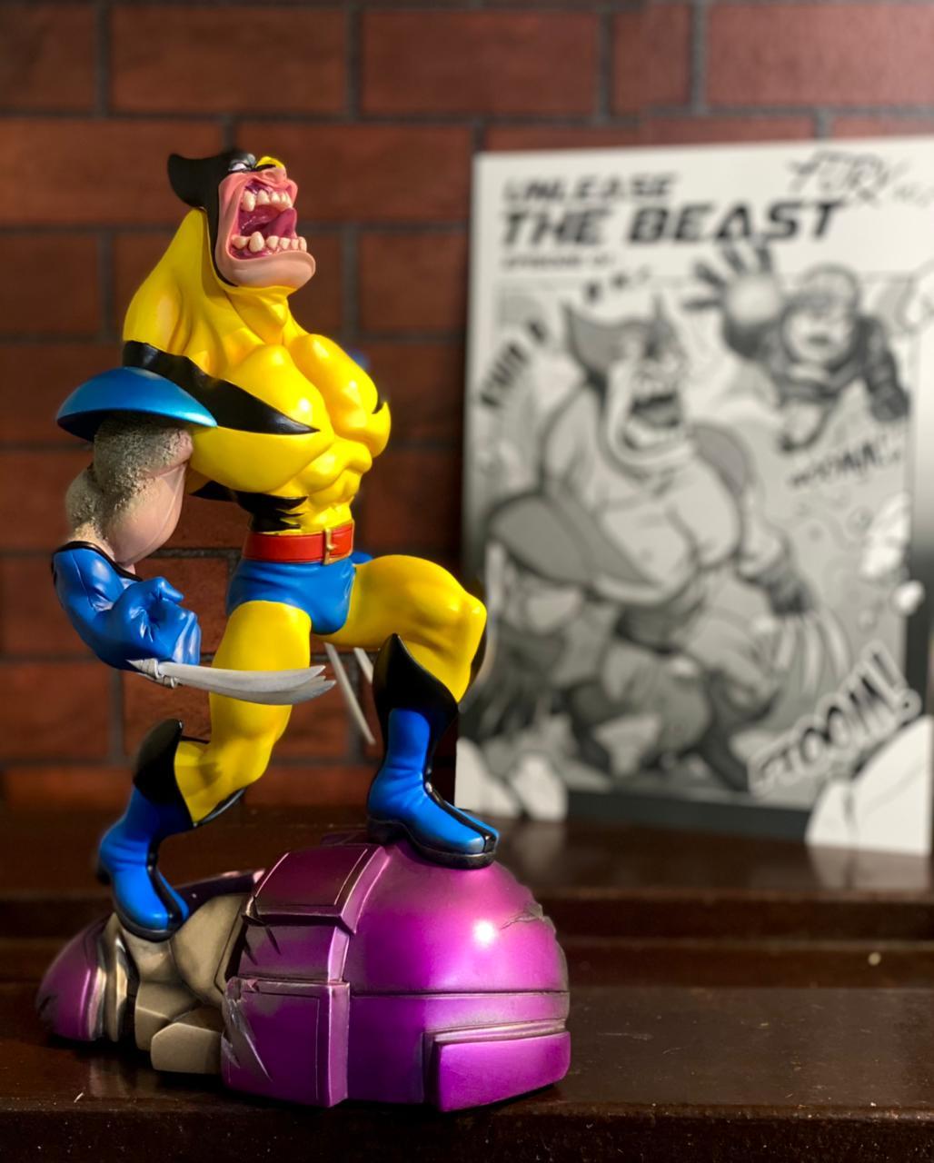 Estátua Fury No.1: Wolverine - Toylaxy