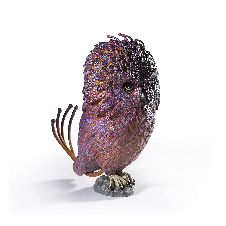 Estátua Fiuum(Fwooper): Harry Potter Criaturas Mágicas (Magical Creatures) - Noble Collection