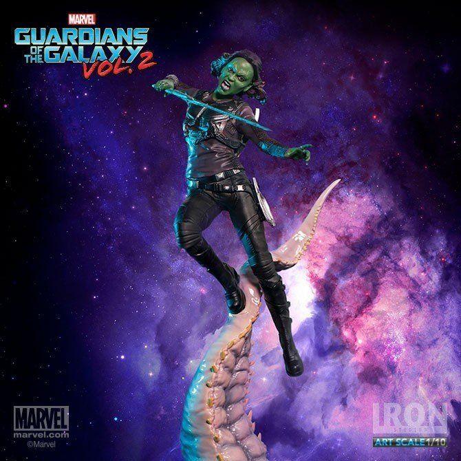 Estátua Gamora: Guardiões da Galáxia Vol.2 (BDS Art) (Escala 1/10) - Iron Studios