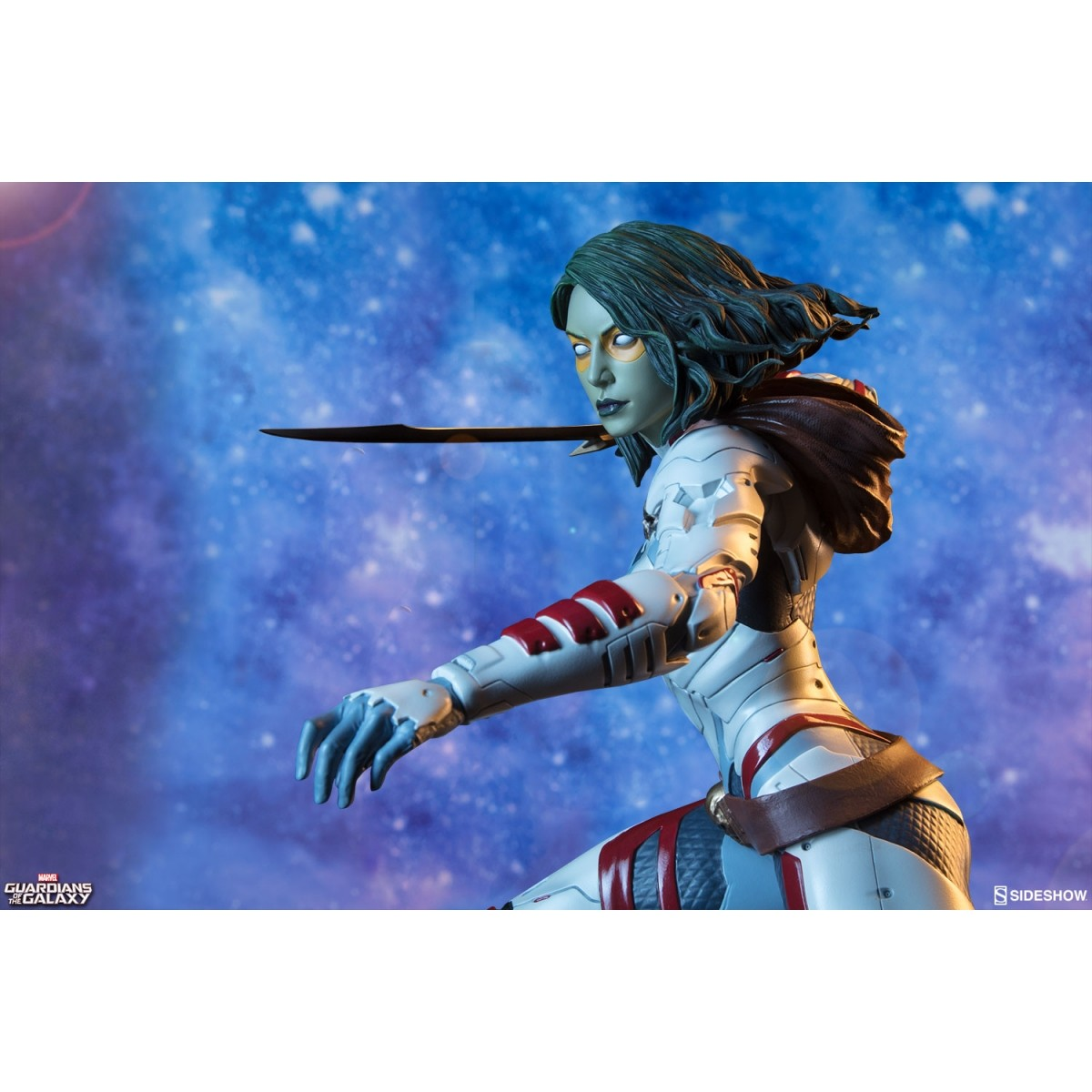 Estátua Gamora: Guardiões da Galáxia ( Premium Format ) Escala 1/4 - Sideshow - CD