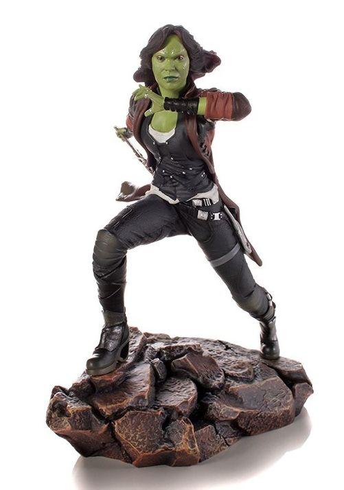 Estátua Gamora: Vingadores Guerra Infinita (Avengers: Infinity War) Art Scale 1/10 - Iron Studios