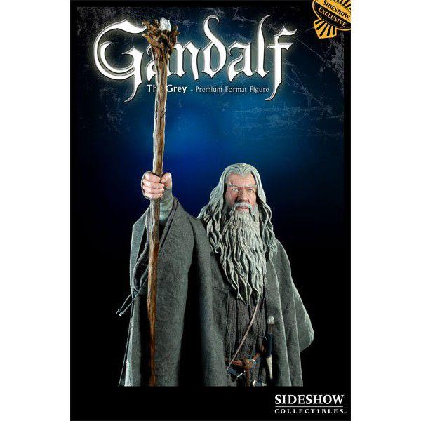 Estátua Gandalf: O Senhor dos Anéis (The Lord of the Rings) Premium Format (Escala 1/4) - Sideshow