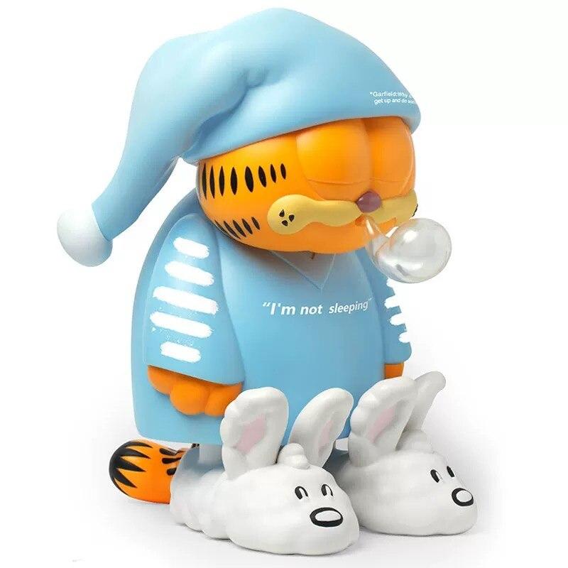 Estátua Garfield de Pijama I'm Not Sleeping Eu Não Estou Dormindo Escala 1/4 - ZC World