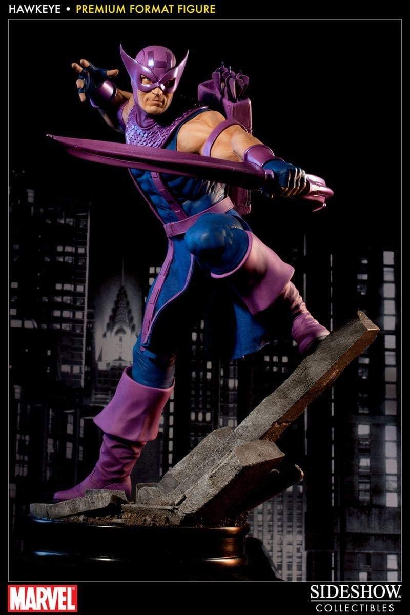 Estátua Gavião Arqueiro (Hawkeye): Marvel Premium Format - Sideshow Collectibles