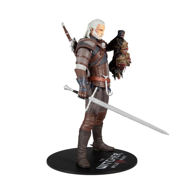 Pré Venda: Estátua Geralt of Rivia: The Witcher  Deluxe  -  McFarlane Toys