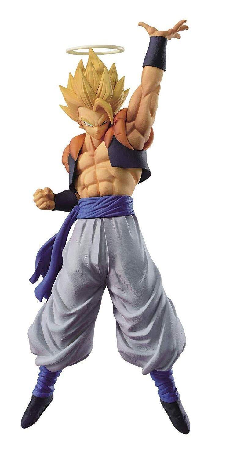 Estátua Gogeta Super Saiyan: Dragon Ball Super Legends Collab - Banpresto Bandai
