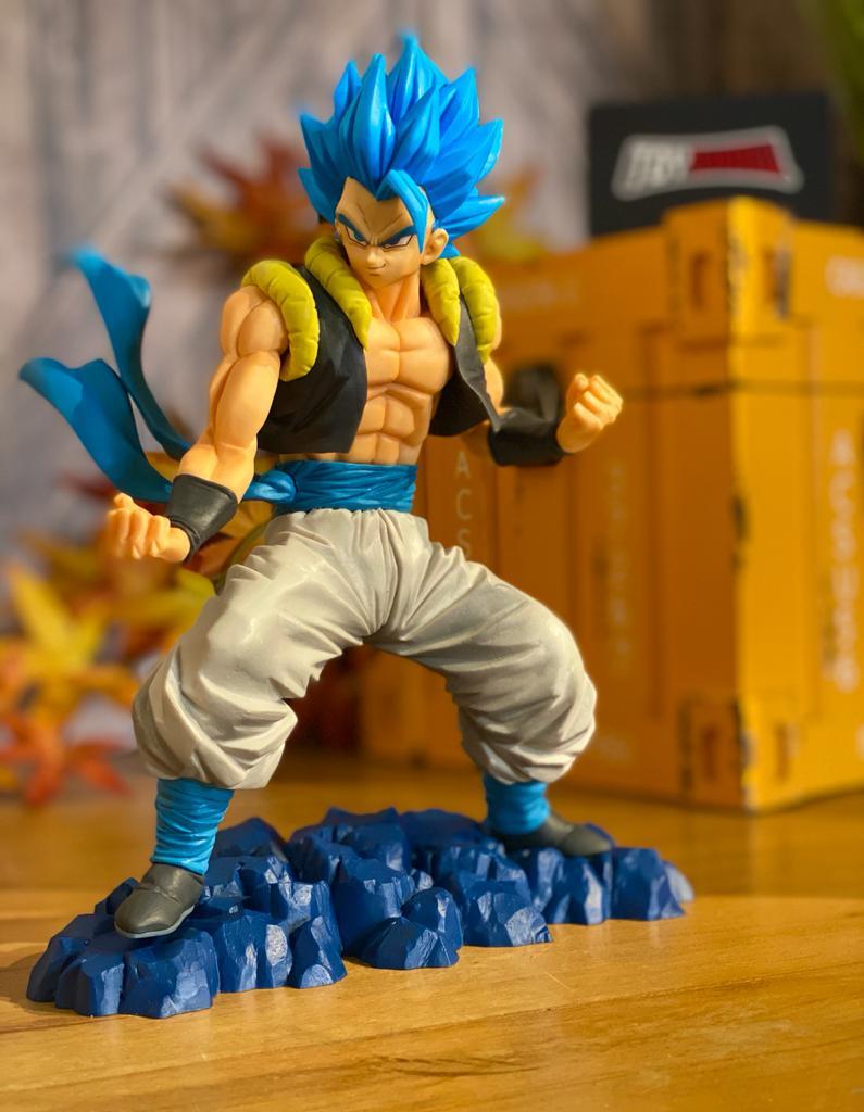 Estátua: Gogeta Super Sayajin Blue (Dragon Ball Super) - Banpresto