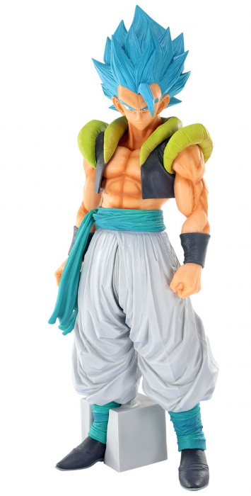 Estátua Gogeta Super Sayajin Blue: Dragon Ball Super ( Super Master Star Piece) - Banpresto