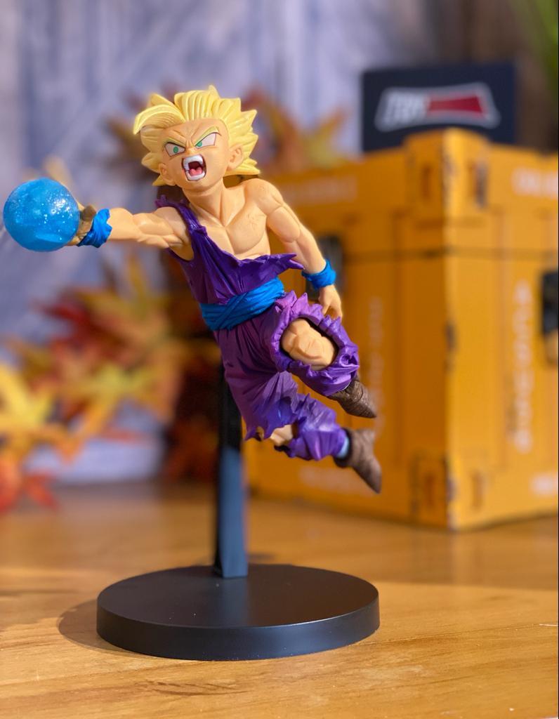 Estátua Gohan Super Sayajin 2 Gxmateria: Dragon Ball Z Anime Mangá - Banpresto Bandai