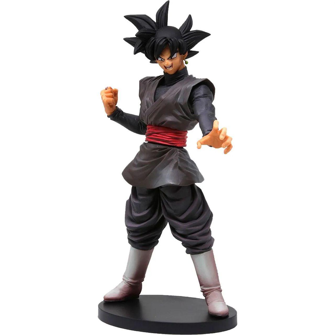 Estátua Goku Black: Dragon Ball Super Legends Collab - Banpresto Bandai