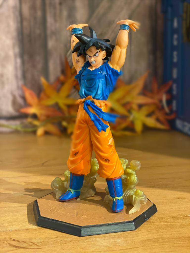 Estátua Goku: Genki Dama - Dragon Ball Z