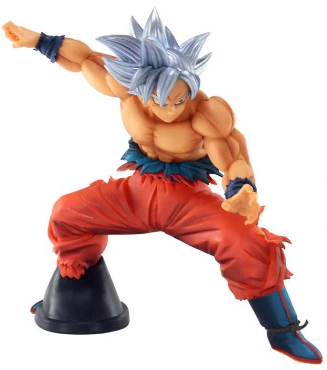 Estátua Goku Instinto Superior (Maximatic): Dragon Ball Super - Boneco Colecionável Anime Mangá - Banpresto Bandai