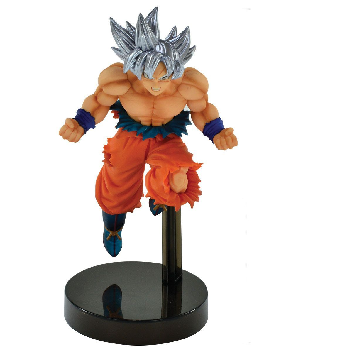 Estátua Goku Instinto Superior Ultra Instinct Z- Battle: Dragon Ball Super - Banpresto Bandai