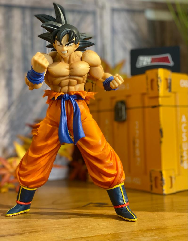 Estátua Goku Maximatic: Dragon Ball Super - Banpresto Bandai