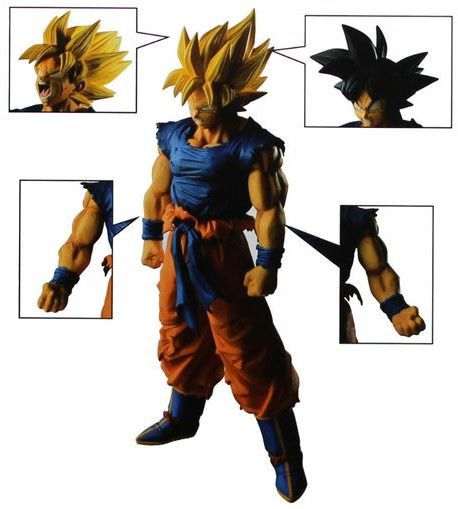 Estátua Goku Super Saiyajin (Legend Battle): Dragon Ball Super - Banpresto