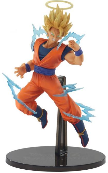 Estátua Goku Super Sayajin 2 (Dokkan Battle Collab): Dragon Ball Z - Banpresto Bandai