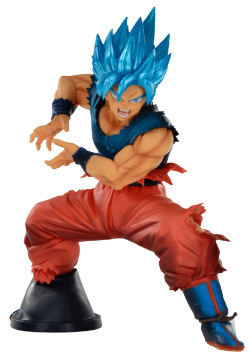 Estátua Goku Super Sayajin Blue: Dragon Ball Super (Maximatic)  Anime Mangá - Banpresto