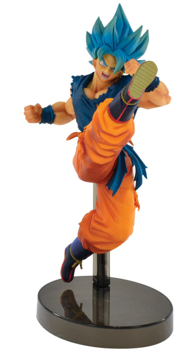 Estátua Goku Super Sayajin Blue: Dragon Ball Super (Z Battle) - Banpresto