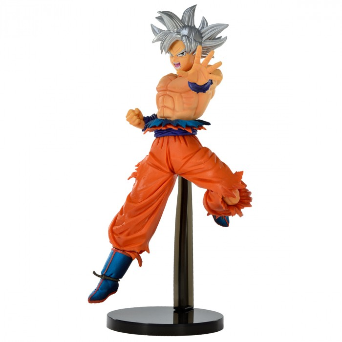 Estátua Goku Ultra Instinto Superior Chosenshiretsuden II Dragon Ball Super - Banpresto Bandai