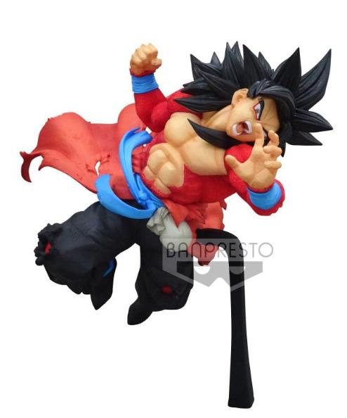 Estátua Goku Xeno Super Saiyajin 4: Super Dragon Ball Heroes (9th Anniversary) - Boneco Colecionável Anime Mangá - Banpresto Bandai
