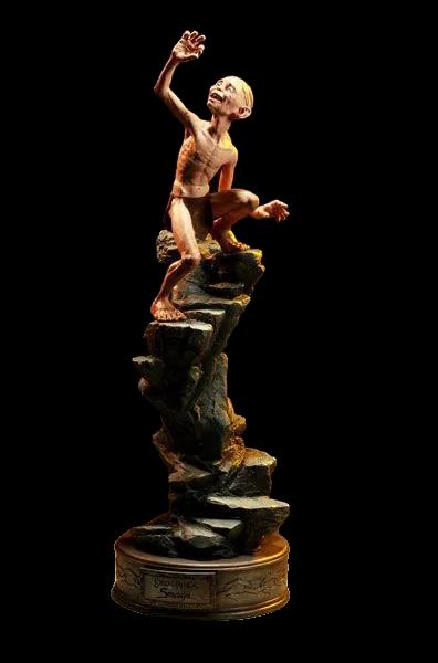 Estátua Gollum & Smeagol: O Senhor dos Anéis (The Lord of the Rings) Premium Format - Sideshow