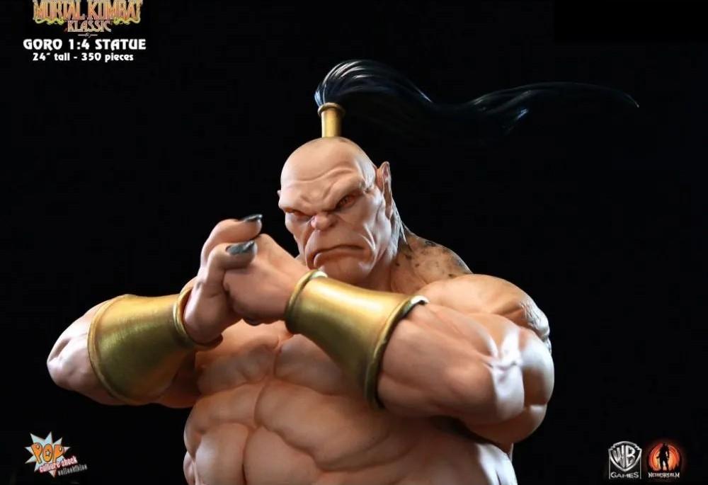 Estátua Goro: Mortal Kombat Classic Escala 1/4 - Pop Culture Shock