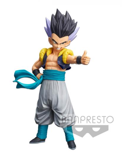 Estátua Gotenks (Resolution of Soldiers): Dragon Ball Z (Grandista) - Banpresto