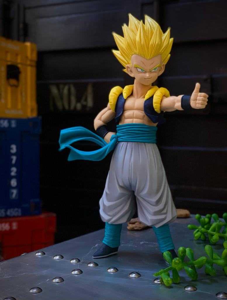 Estátua Gotenks (Resolution of Soldiers): Dragon Ball Z (Grandista) - Banpresto