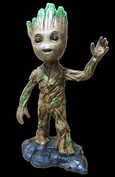 Estátua Groot: Guardiões da Galáxia (Guardians of the Galaxy) - Marvel