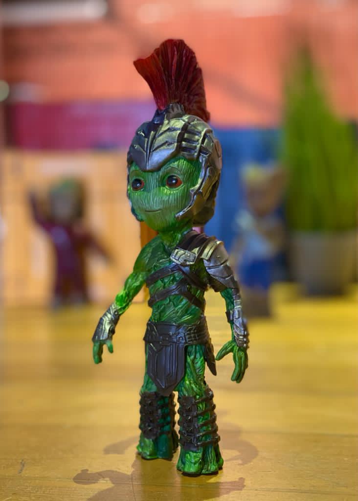 Estátua Groot (Hulk Gladiador): Guardiões da Galáxia Vol. 2 (Guardians of the Galaxy Vol. 2) - Marvel