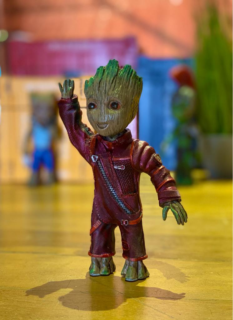 Estátua Groot (Ravager): Guardiões da Galáxia Vol. 2 (Guardians of the Galaxy Vol. 2) - Marvel
