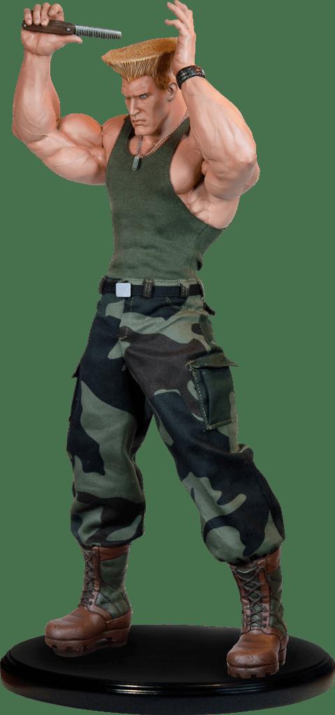 Estátua Guile: Street Fighter II (Escala 1/4) - Pop Culture Shock