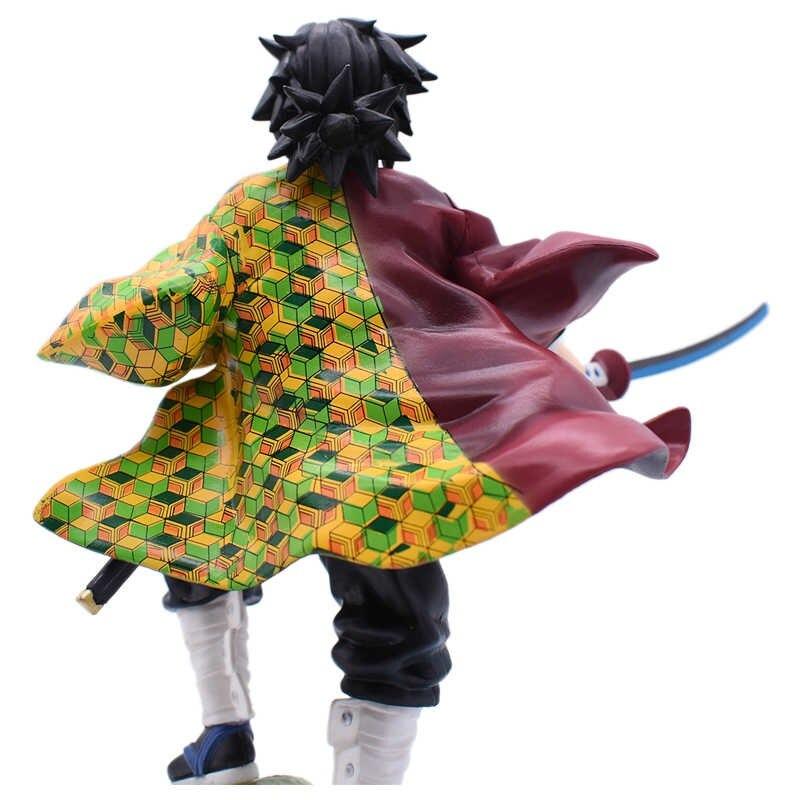 Estátua Guyo Tomioka Caçador de Demônios Demon Slayer Kimetsu no Yaiba 23cm  - EVALI