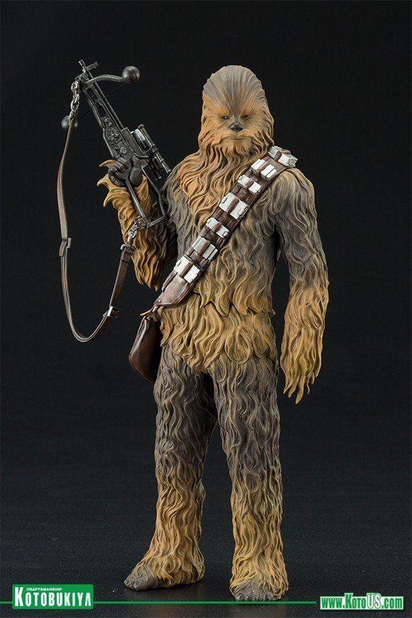 Estátua Han Solo & Chewbacca: Star Wars O Desperta