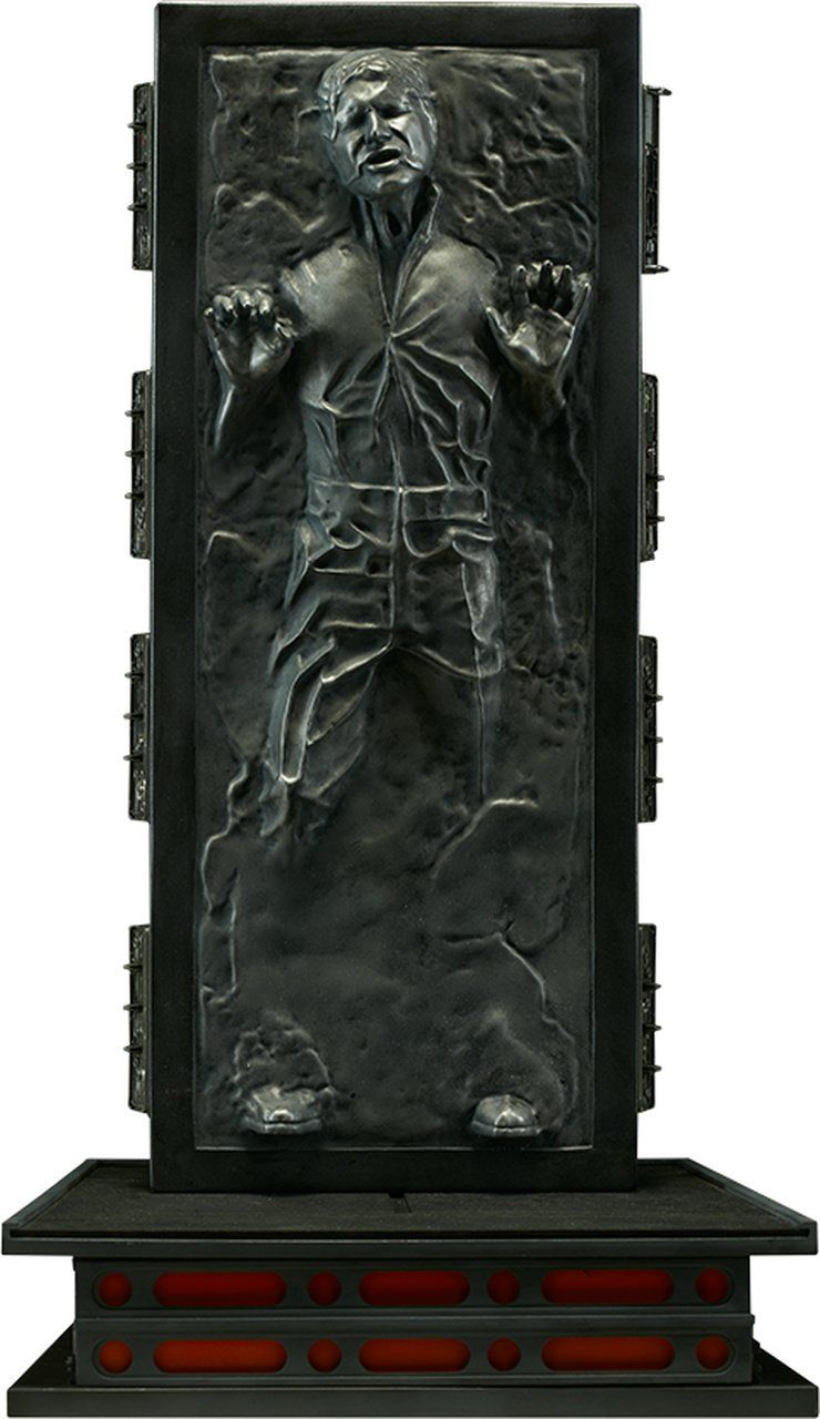 Estátua Han Solo em Carbonite: Star Wars 1/6 - Sideshow Collectibles - CD