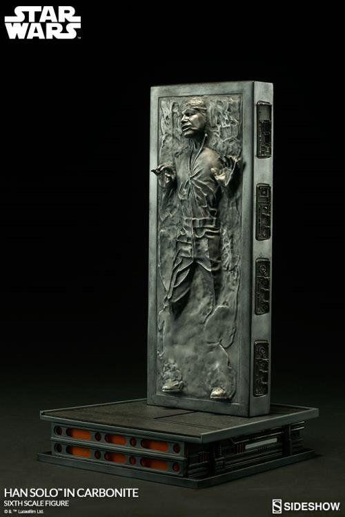 Estátua Han Solo em Carbonite: Star Wars 1/6 - Sideshow Collectibles - CD