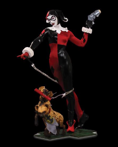 Estátua Harley Quinn Clássica: Dc Comics