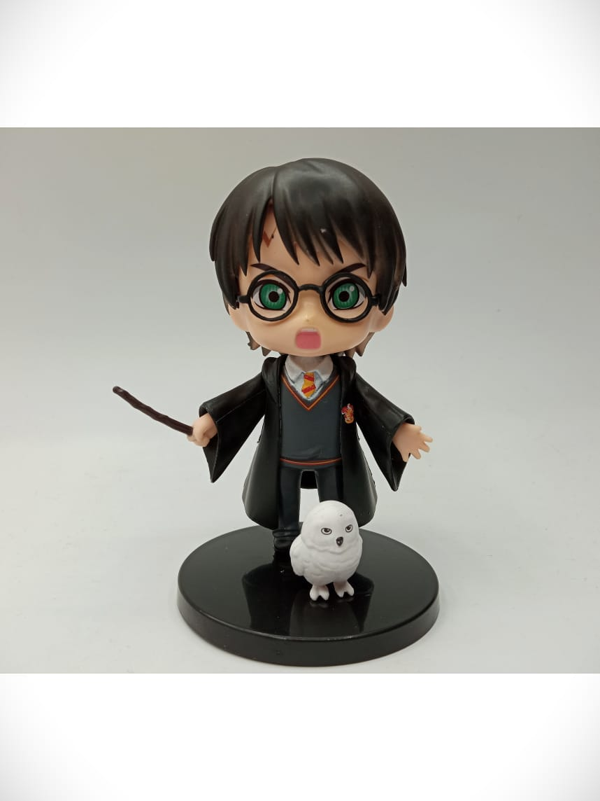 Estátua Harry Potter e Edwiges (Qposket): Harry Potter