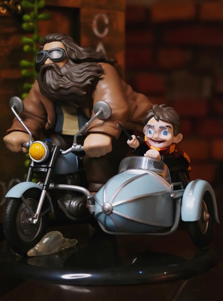 Estátua Harry Potter & Rubeus Hagrid : Harry Potter Q-Fig Max