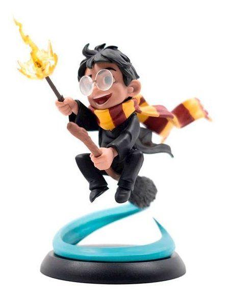 Estátua Harry Potter (First Flight): Harry Potter (Q-Fig) - Quantum Mechanix