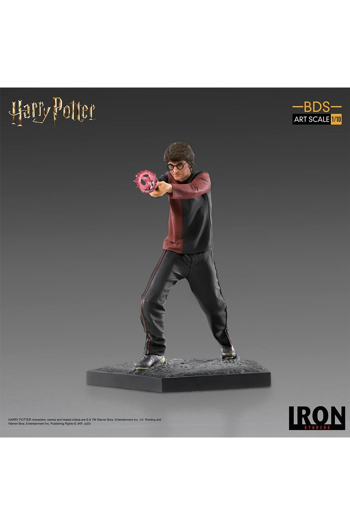 Estátua Harry Potter: Harry Potter Escala 1/10 - Iron Studios