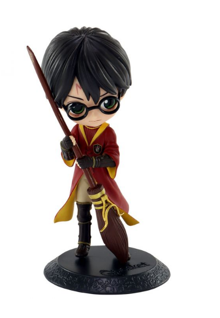 Estátua Harry Potter (QPosket Quidditch): Harry Potter (Boneco Colecionável) - Banpresto