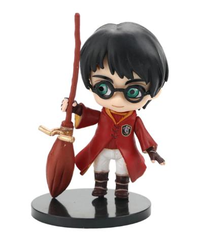 Estátua Harry Potter Quadribol (Qposket): Harry Potter - MKP