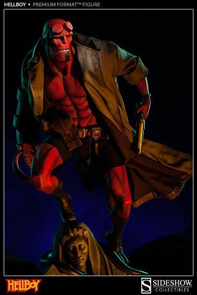 Estátua Hellboy: Hellboy 20 years (Premium Format) - Sideshow